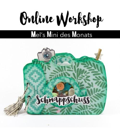 """Online Workshop """"Schnappschuss-Minialbum""""  von Mel"""
