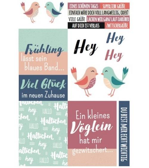 "Printables ""Frühling lässt sein blaues Band..."""
