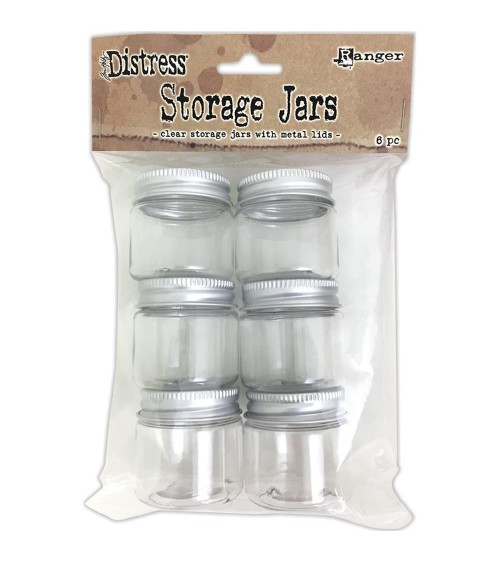 Ranger - Tim Holtz Distress - Storage Jars (6 Stk.)