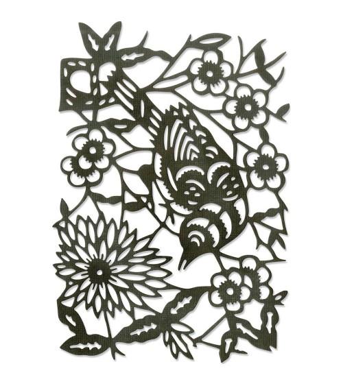 Sizzix - Tim Holtz - Thinlits Dies - Paper-Cut Bird