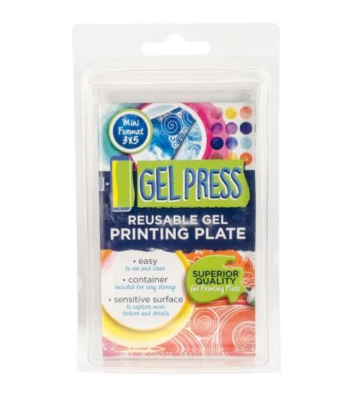"""Gel Press - Gel Printing Plate - 3x5"""""""