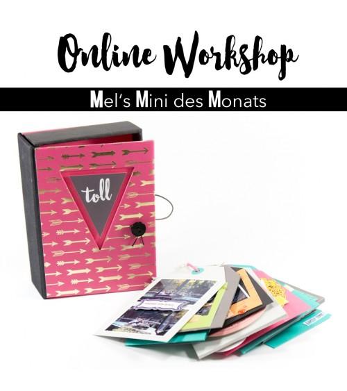 """Online Workshop """"Minialbum mit Box""""  von Mel"""