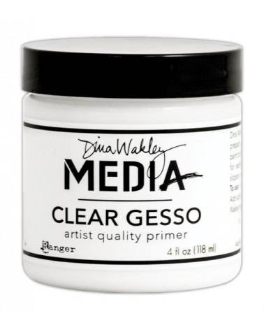 Ranger - Dina Wakley Media - Clear Gesso (118 ml Dose)