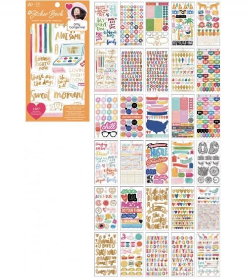 AC - Designer  Sticker Book - Amy Tan