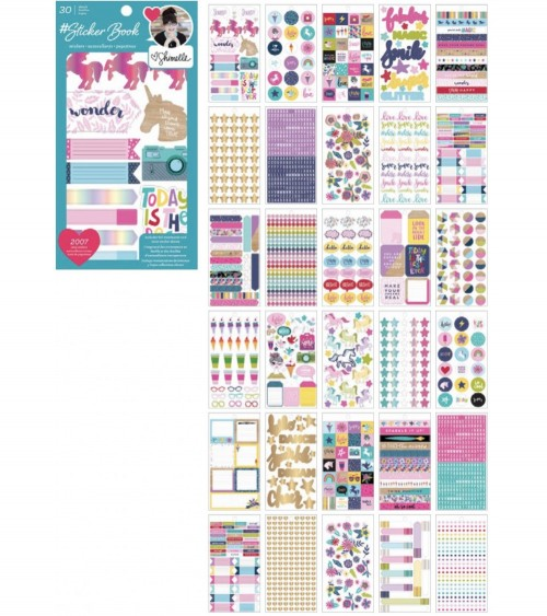 AC - Designer  Sticker Book - Shimelle