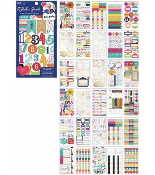 AC - Designer  Sticker Book - Vicki Boutin