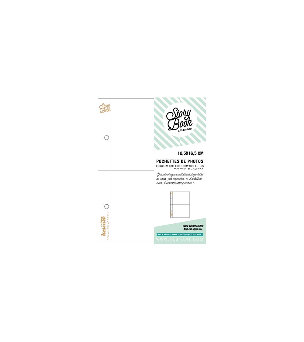 kesi-art - Schutzhüllen - Pocket Pages 10x16cm (2x 8x10