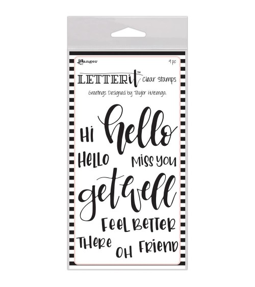 Ranger - Letter it - Clear Stamps Greetings