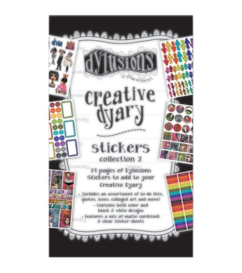 Ranger - Dylusions - Creative Dyary Sticker Book 2