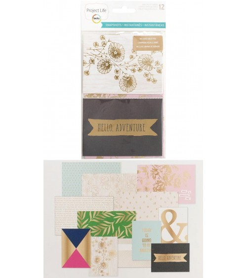 Project Life - Snapshots - Specialty Foil Card Pack