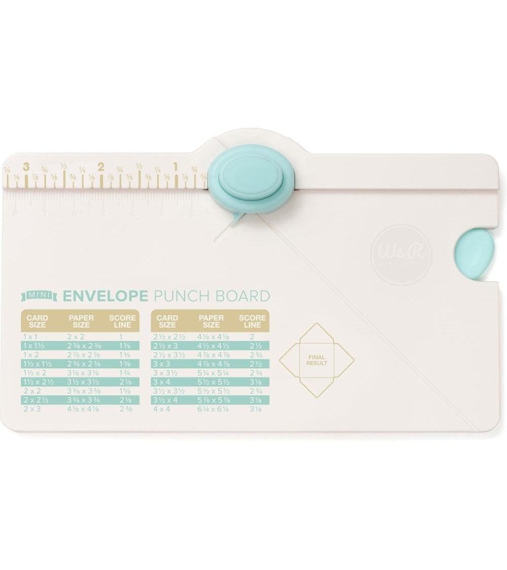 WRMK - MINI Envelope Punch Board