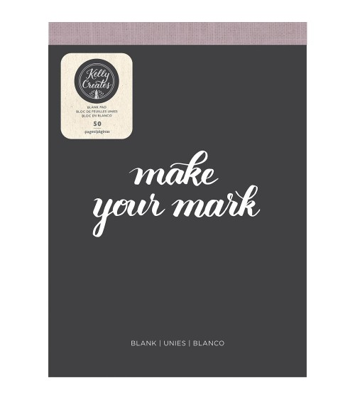 AC - Kelly Creates - Learn Brush Lettering Paper Pad Blank