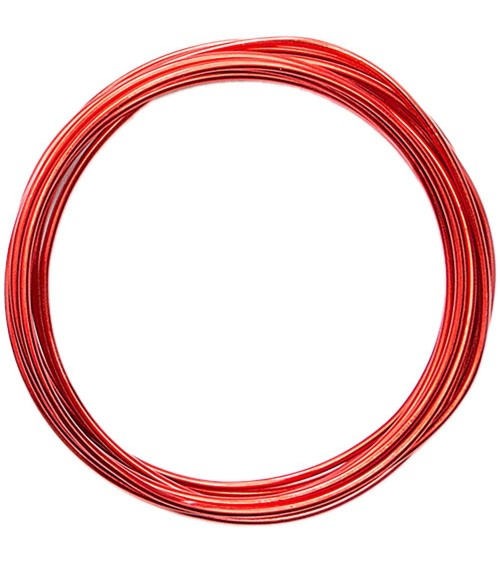 WRMK - Happy Jig - Color Wire Red (6yd)