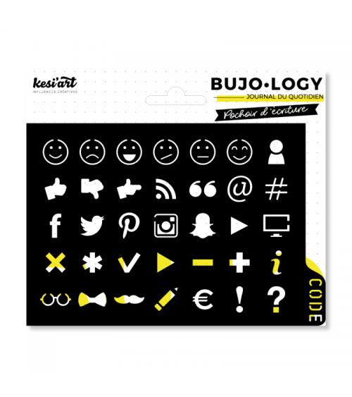Kesi'Art - BuJo-Logy - Stencil Code