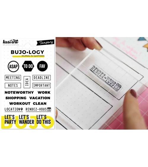Kesi'Art - BuJo-Logy - Clear Stamps ASAP