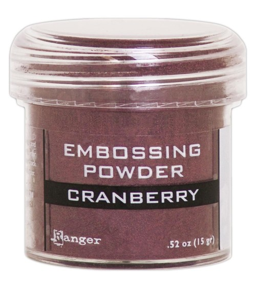 Ranger - Embossing Powder * Cranberry Metallic