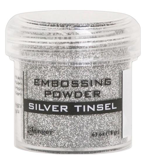 Ranger - Embossing Powder * Silver Tinsel