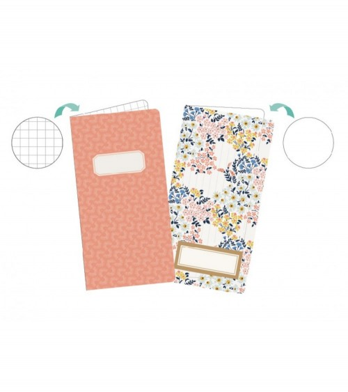 Journal Studio - Journal Inserts Crate Floral (2 Stk.)