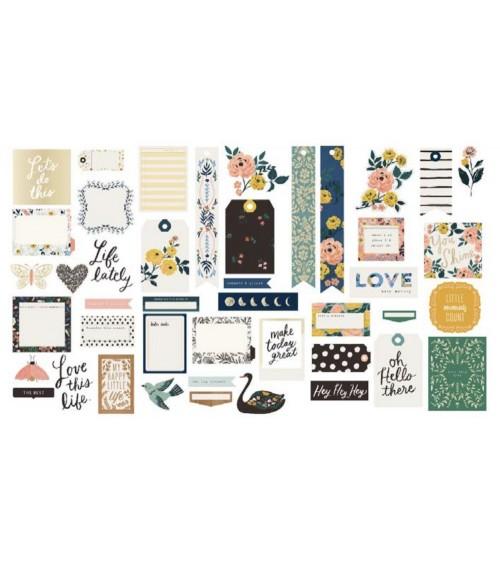Journal Studio - Crate Ephemera Pack Love This Life