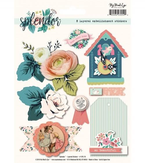 MME - Splendor - Layered Sticker