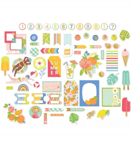 MME - Tutti Frutti - Mixed Bag Ephemera Pack