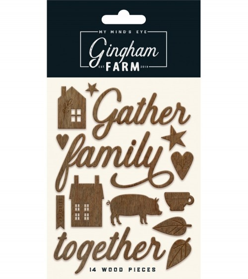 MME - Gingham Farms - Wood Shapes