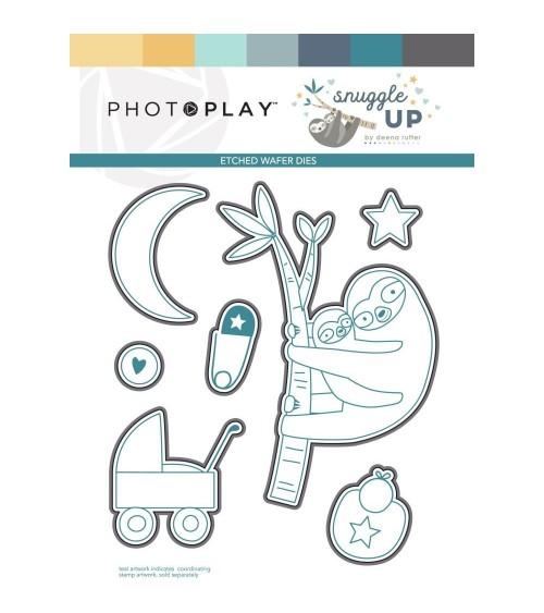 Photo Play - Snuggle Up Boy - Dies