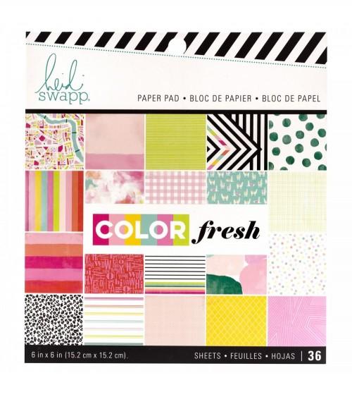 "Heidi Swapp Color Fresh - 6x6"" Paper Pad"