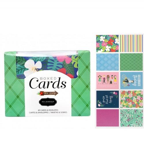 Pebbles - Jen Hadfield Chasing Adventures - Boxed Cards + Envelo