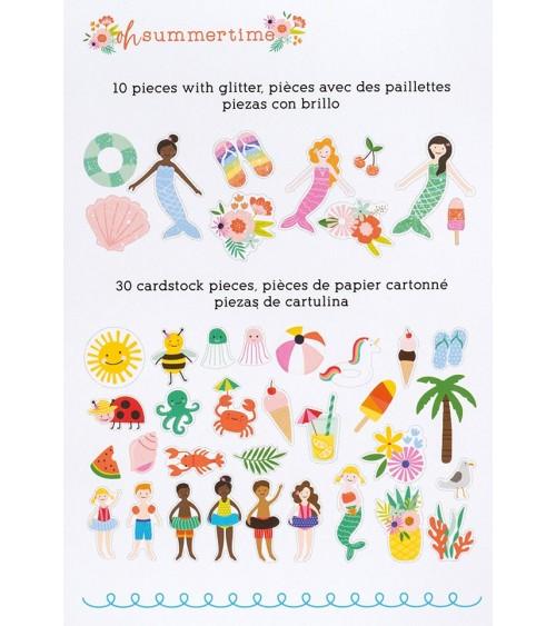 Pebbles - Oh Summertime - Ephemera Pack Icon
