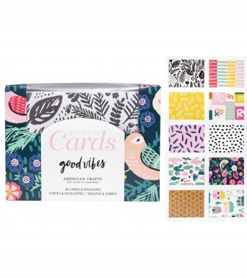 Crate - Good Vibes - Boxed Cards + Envelopes