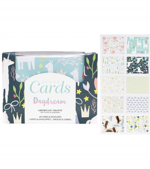 American Crafts - Daydream - Boxed Cards + Envelopes