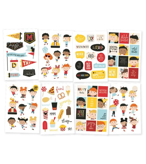 """Simple Stories - Say Cheese 4 - 4x6"""" Stickers Happy Kids"""