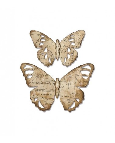 Sizzix Tim Holtz - Bigz Die - Tattered Butterfly