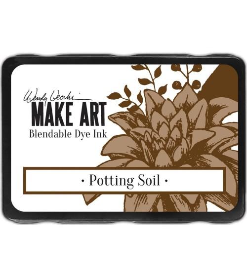 Ranger - Wendy Vecchi Make Art DYE Ink Pad - Potting Soil