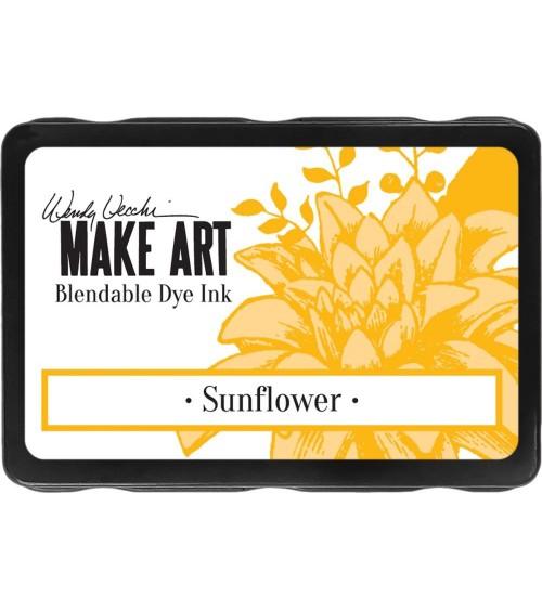 Ranger - Wendy Vecchi Make Art DYE Ink Pad - Sunflower
