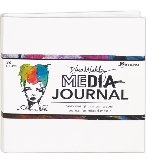 "Ranger - Dina Wakley - Media Journal 6x6"""