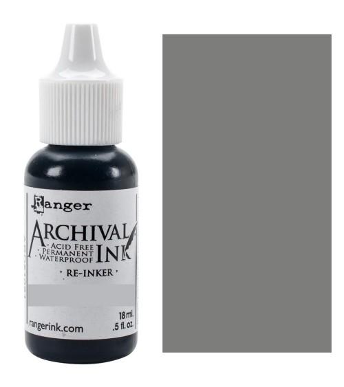 Ranger - Distress Archival Ink - Re-Inker - Hickory Smoke