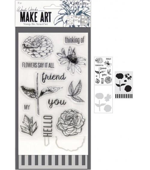 Wendy Vecchi Make Art Stamp