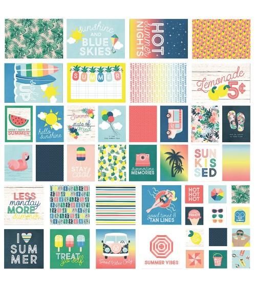 Simple Stories - Sunshine & Blue Skies - Snap Card Pack