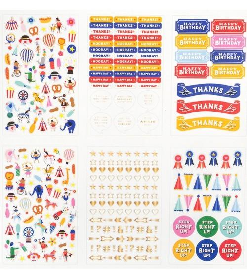 Pebbles - Big Top Dreams - Mini Sticker Book