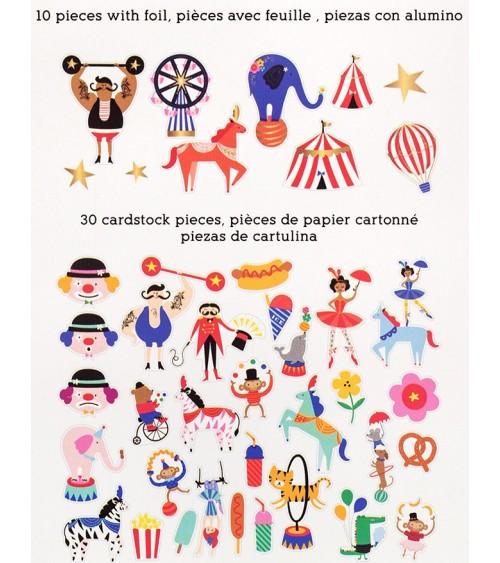Pebbles - Big Top Dreams - Icon Ephemera Pack