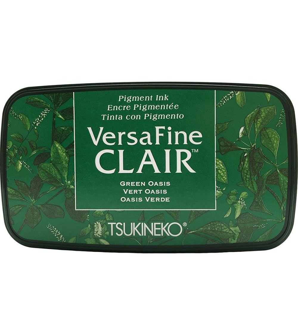 Tsukineko - Versafine Clair Ink Pad - Green Oasis