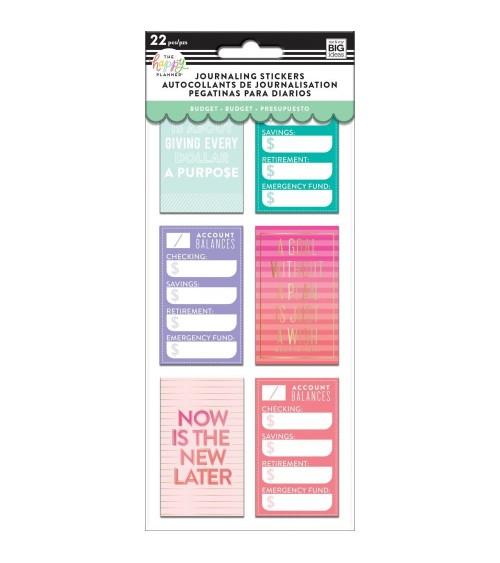 MAMBI - Happy Planner - Flip Sticker Budget