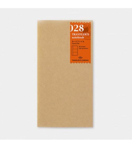 Midori - Traveler's Notebook - 028. Card File Refill
