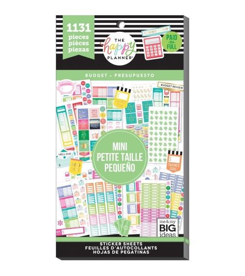 MAMBI - Happy Planner - Sticker Value Pack Mini Budget