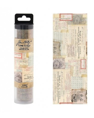 Tim Holtz - Collage Paper Roll - Document