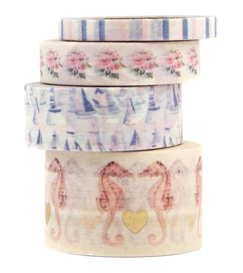 Prima - Golden Coast - Decorative Washi Tape