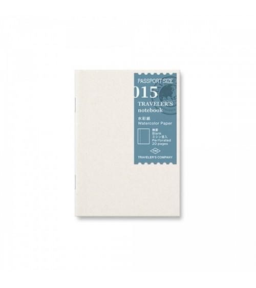 Midori - Traveler's Notebook - Passport Size 015 Watercolor Refi