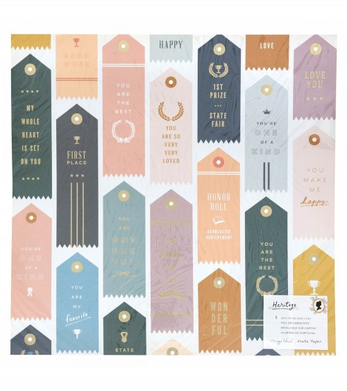 Crate - Maggie Holmes Heritage - Trophies - Gold Foil